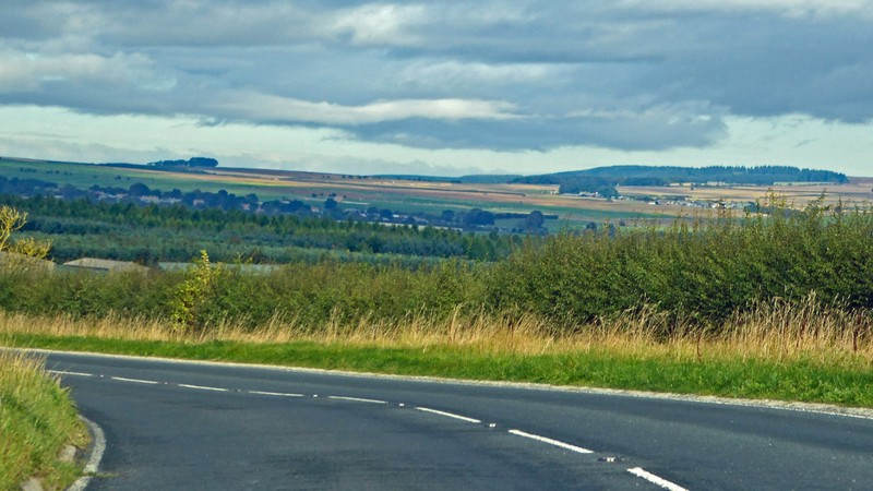 Just past Helmsley on the A170