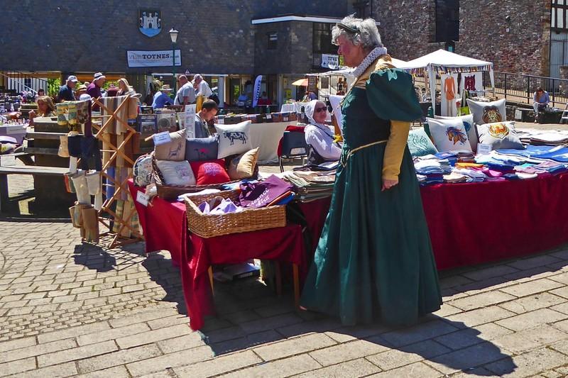 Elizabethan Charity Market in Totnes