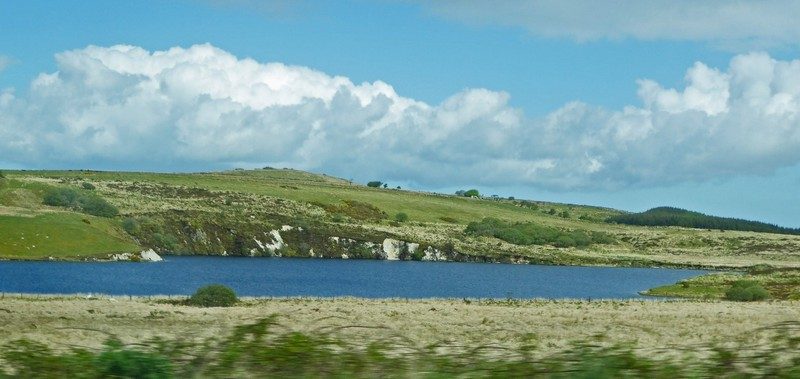 Lake near Bolventor on Bodmin Moor in Cornwall