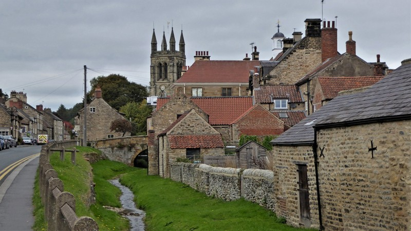 Helmsley in the North York Moors National Park