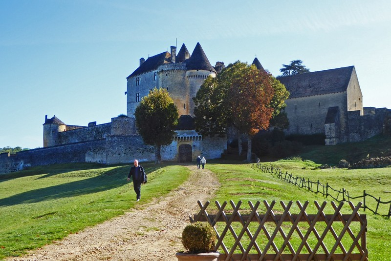 Château de Fénelon near Sainte-Mondane