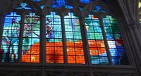 Modern Stained Glass in St. Gatien