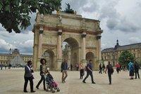 Place du Carrousel at the Louvre Museum