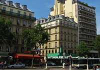 Corner of rue du Montparnasse and blvd. du Montparnasse