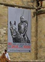 Poster at Château de Saint-Germain-en-Laye