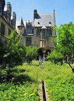The Cluny Museum from its Medieval Garden