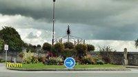 Roundabout in Troarn