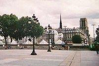 Notre Dame de Paris from the Hôtel de Ville
