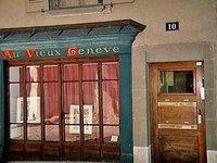 Antique Book Store in Geneva