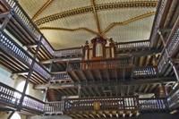 Organ at Eglise Saint-Martin-de-Sare