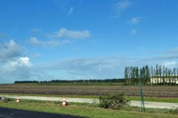 A63 south of Bordeaux in the Landes region