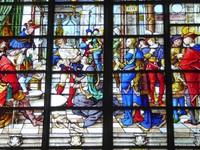 Église Saint-Gervais-et-Saint-Protais - Stained Glass by Jean Chastellain