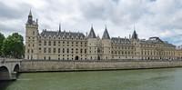 The Conciergerie on the Seine in Paris