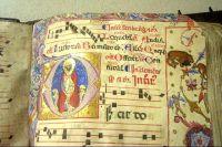 Illuminated Manuscript - Pisa