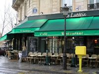 Le Lutetia Cafe, Ile St. Louis - Paris