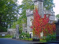 Entrance to Wray Castle