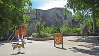 Garden of the Cluny Museum - Playground area