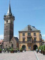 Place aux Marches et Beffroi - Obernai