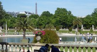 Eiffel Tower from the Luxembourg Gardens
