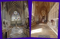 Exeter Cathedral - Lady Chapel and side aisle