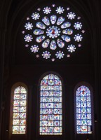 West Rose Window - Chartres Cathedral