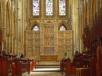 The Wonderful Reredos by Nathaniel Hitch in the Truro Cathedral