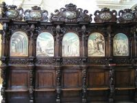 Inside of St. Lorenz Basilica in Kempten