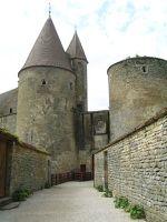 Châteauneuf-en-Auxois in Burgundy near Beaune