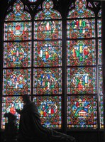 Notre Dame de Paris - Stained Glass
