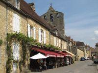Domme in the Dordogne region of France