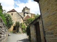 Castelnaud-la-Chapelle in the Dordogne region of France