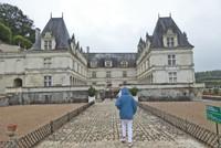 Entrance to Château de Villandry