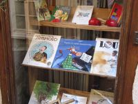 Children's books in Montolieu