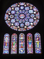 South Rose Window - Notre Dame de Chartres