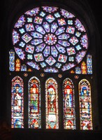 North Rose Window - Chartres Cathedral