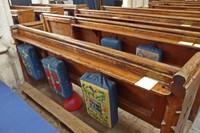 Balloons hiding in St. Cyriac's Church - Lacock