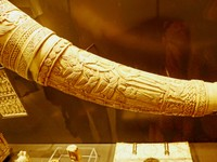 Carved ivory - Cluny Museum - Paris