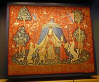 Lady and the Unicorn Tapestry -