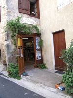Hidden bookstore in Montolieu