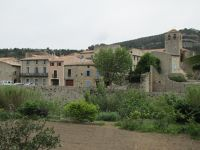 View of St. Michel from the Abbey in Lagrasse