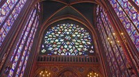 Rose Window at Sainte-Chapelle, Paris