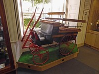 Goat cart at the Beck Isle Museum