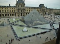 The Louvre Pyramid by Pei