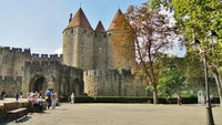 Entrance to La Cité at Carcassonne