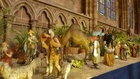 Shepherds and Wise Men from the Tableau at the Cathedral