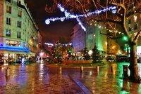 Square St. Médard and fontaine pluie Guy Lartigue