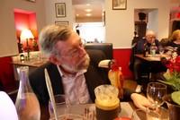 A friendly toucan at La Villa Restaurant in Montrichard