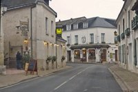 The village of Chenonceaux