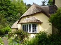 Clematis Cottage Gift Shop & Gallery at Selworthy Green