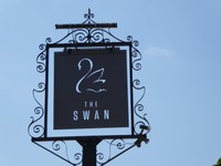 Sign for The Swan Pub